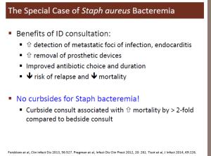 S aureus bacteremia